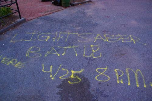 Light-saber-sign